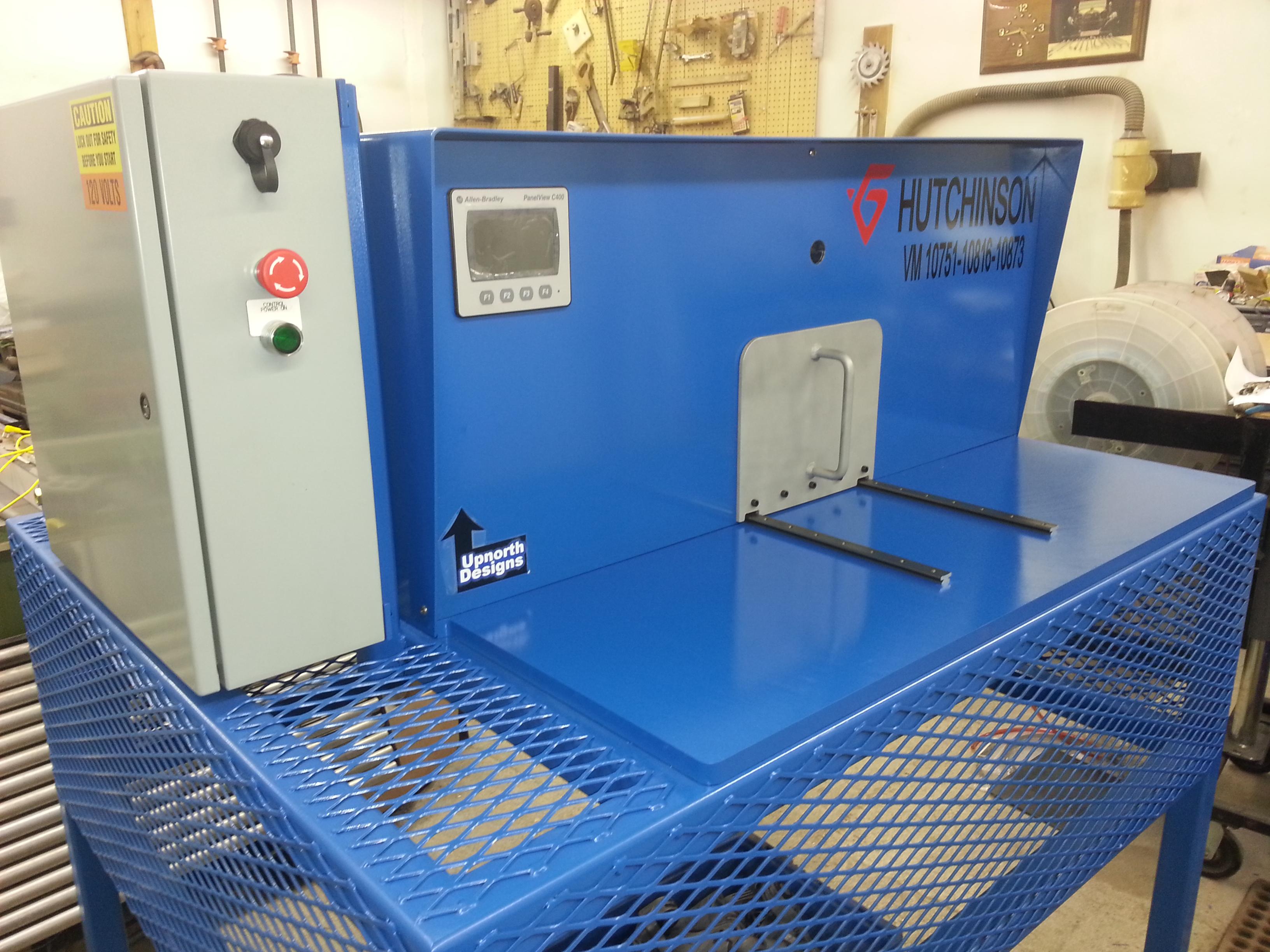 VERIFICATION MACHINE WITH DALSA CAMERAS